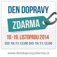banner ke dni dopravy zdarma