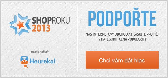 Hlasujte v anketě ShopRoku 2013
