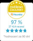 Heureka.cz - ověřené hodnocení obchodu ProdejParfemu.cz