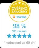 Hodnocení ověřených zákazníků obchodu na Heureka.cz