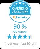 Heureka.cz - ov��en� hodnocen� obchodu V.J. Rousek