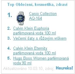 5 TOP produktů v sekci