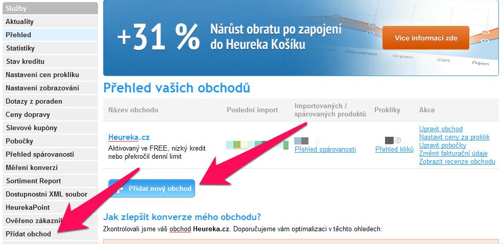 Stejné e-shopy od jednoho obchodníka není možné mít na Heureka.cz  registrované. Srovnání cen od stejných obchodníků 01342e6e334