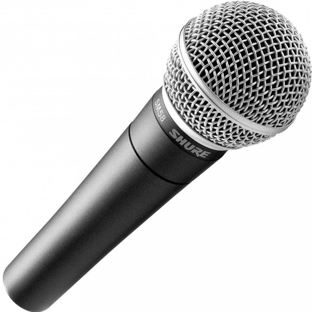Připojte mikrofon k zesilovači