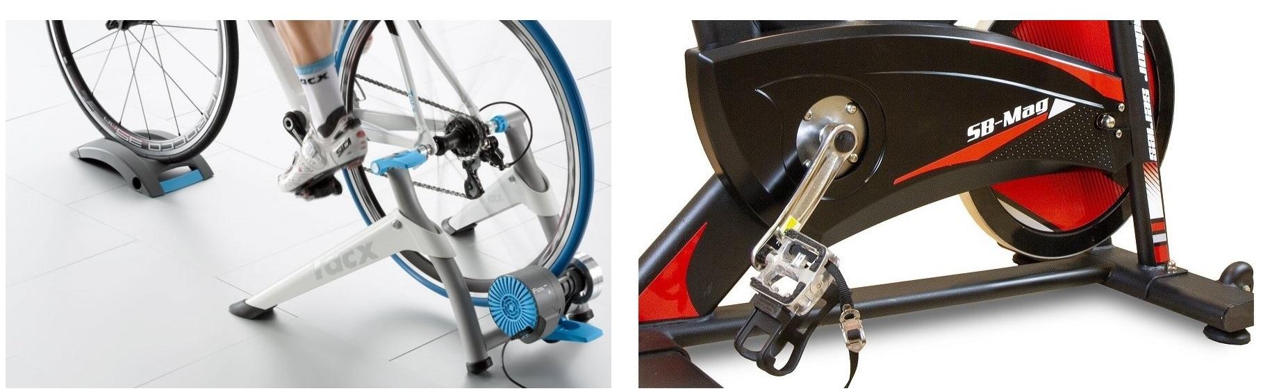 Cyklistické válce jsou samy o sobě skladnější, počítat však musíte i s nutností neustálého přenášení kola do stojanu