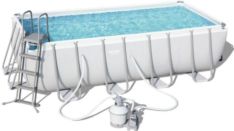 Rámový bazén s pevnou konstrukcí vydrží i dlouhá léta