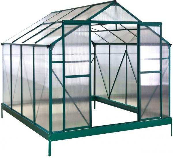 polykarbonát zelený skleník