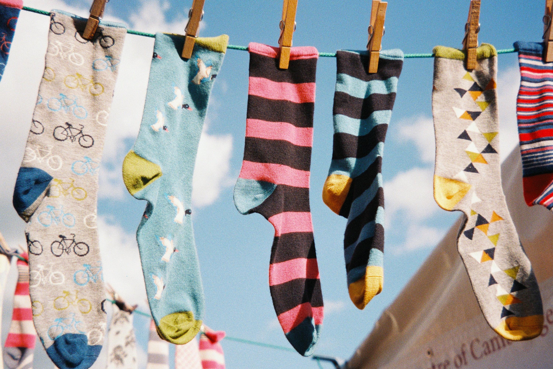 Vlněné ponožky nepatří do sušičky