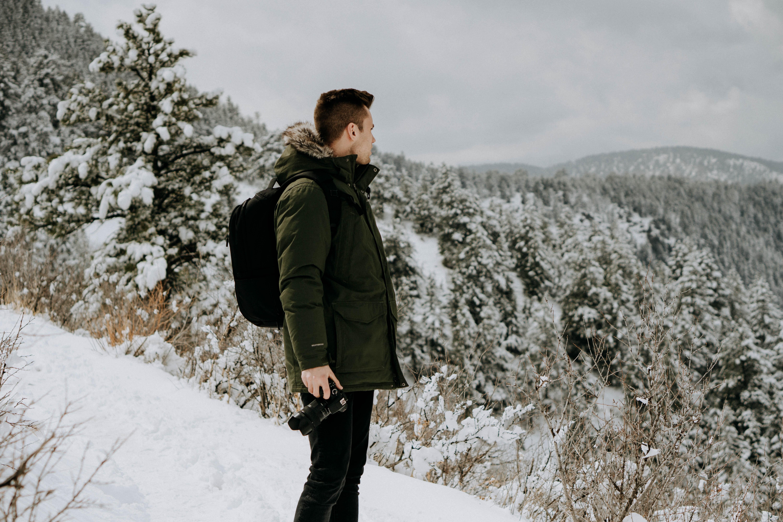 Zimní bundy vybírejte o něco větší, aby se vám pod ní vešel svetr a další vrstvy
