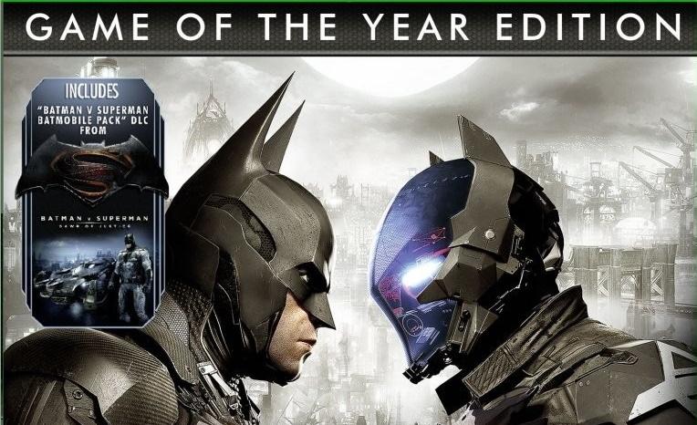 Batman Arkham Knight: Game Of The Year Edition