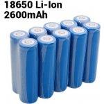 UltraFire 2600mAh 3,7V 18650 NCR Li-ion 10ks