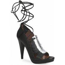 Sigerson Morrison sandály STRUZZO černé