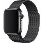 Apple Watch 44mm vesmírně černý milánský tah