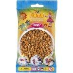 HAMA H207-21 Hama zažehlovací světle hnědé korálky 1000ks MIDI