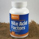Jarrow Bile Acid Factors žlučové kyseliny 333 mg x 90 cps.