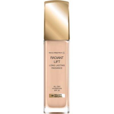 Max Factor Radiant Lift dlouhotrvající make-up s uv ochranou SPF30 55 Golden Natural 30 ml