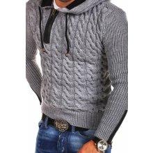 Pánský pletený svetr Tazzio Hoodie 15-453