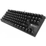 GENESIS NKG-0944 - Mechanická herní klávesnice THOR 300 TKL, USB, US layout, bílé podsvícení