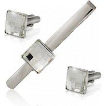 MHM pánský set šperků s krystaly Swarovski pm12