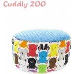 Dětský taburet Cuddly Zoo Medvídek světle modrý