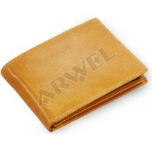 Arwel Pánská kožená peněženka 513 7033 světle hnědá