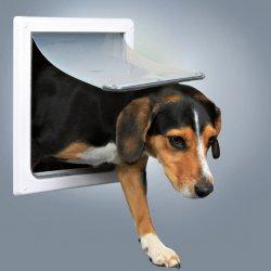 Autovýbava Průchozí dvířka pro psy S-M dvoucestné 30x36cm