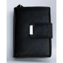 Kabana dámská kožená peněženka černá