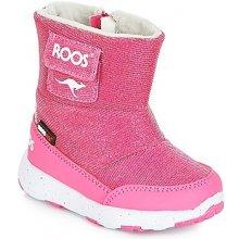 Kangaroos Zimní boty Dětské SNOWBALL Růžová 591bd9e5f1