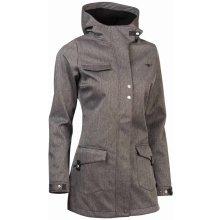Woox kabát softshellový dámský Urbem Concha Gray Chica