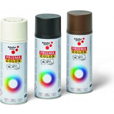 Schuller Eh'klar Prisma Color 91003 RAL 9010M Sprej bílý matný 400 ml, odstín barva bílá matná