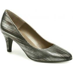 Dámská obuv Brenda Zaro F552A stříbrné lodičky 33fd50ce18