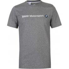 Puma BMW Logo tričko pánské šedá a9e19113a3