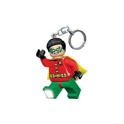 Přívěsek na klíče LEGO Licence DC Super Heroes Robin svítící figurka
