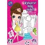 Littles Pet Shop Vybarvi můj svět! Bláznivý svět zvířátek