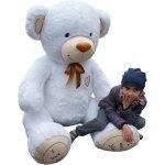 XXL MAXI Plyšový Medvěd bílý 190 cm
