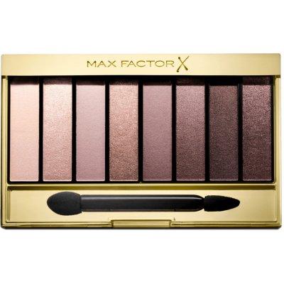 Max Factor Masterpiece Nude Palette paleta očních stínů 03 Rose Nudes 6,5 g