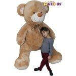 Baby Nellys XXL MAXI Plyšový Medvěd béžový XXL béžový 190 cm