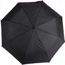 Pánský skládací černý deštník Mateo