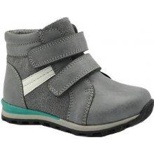 Bugga B00135-09 boty chlapecké zateplené šedá