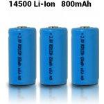 UltraFire 650mAh 3.7V 16340 NCR Li-ion 10 ks