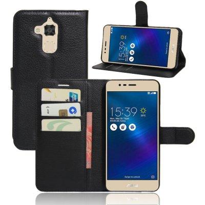 Pouzdro ASUS ZenFone 3 MAX ZC520TL - obal peněženka se stojánkem