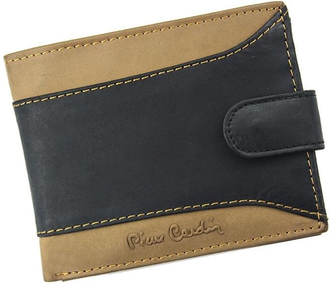 Pierre Cardin Pánská kožená peněženka HUNTER TILAK13 323A černá s hnědou  alternativy - Heureka.cz b84062c6c6