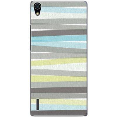 Pouzdro iSaprio Stripes Huawei Ascend P7