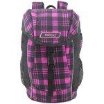 Target batoh Kostky růžový/černý