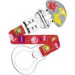 Mam Clip Monster pásek na dudlík různé motivy a barvy 1 kus