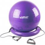LiveUp gymball Master s expandéry a podstavou