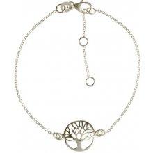 Eppi stříbrný náramek se stromem života Tyriq BR34550