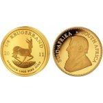 Krugerrand The South African Mint Company Zlatá mince 1 4 Oz