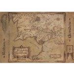Mapa Rohanu a Gondoru