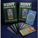 Runy - magické karty ( + karty) - Silver RavenWolf, Nigel Jackson